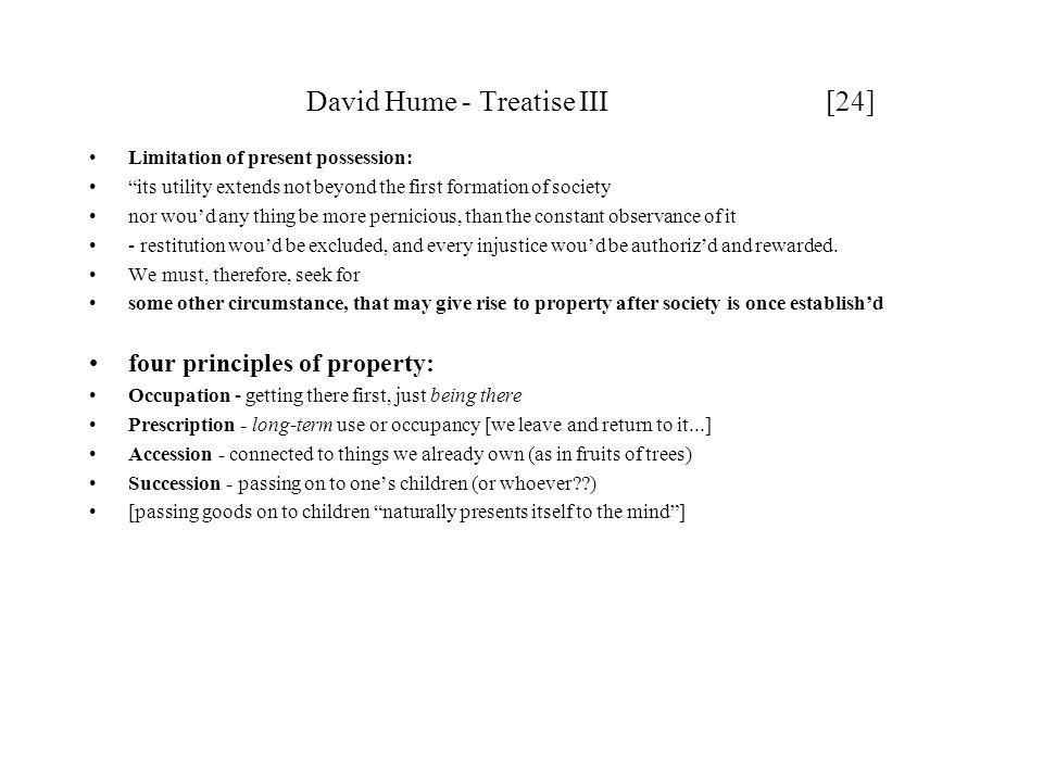 David Hume - Treatise III [24]